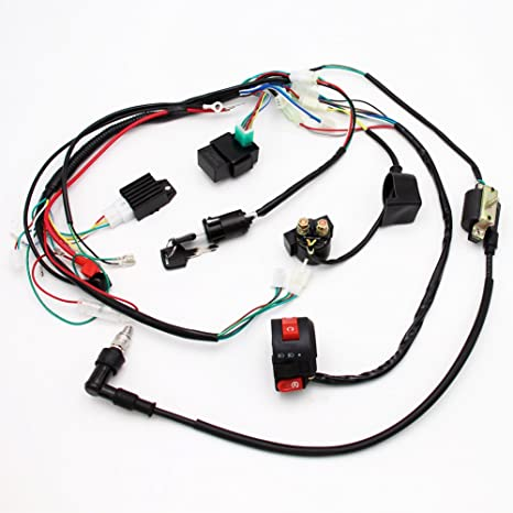 Amazon.com: Full Electrics Wiring Harness Coil CDI Spark Plug Kits on buggy wagon, buggy engine, buggy bed, buggy carriage,