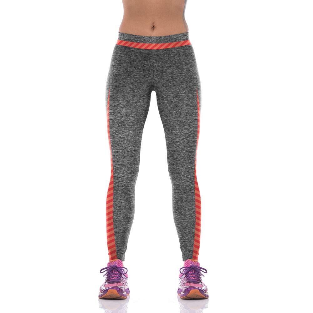 MAOYYMYJK Yoga-Hose Für Damen Frauen Digitaldruck Lässig Fitness Hosen Hosen Hohe Taille Stretch Leggings Y1092