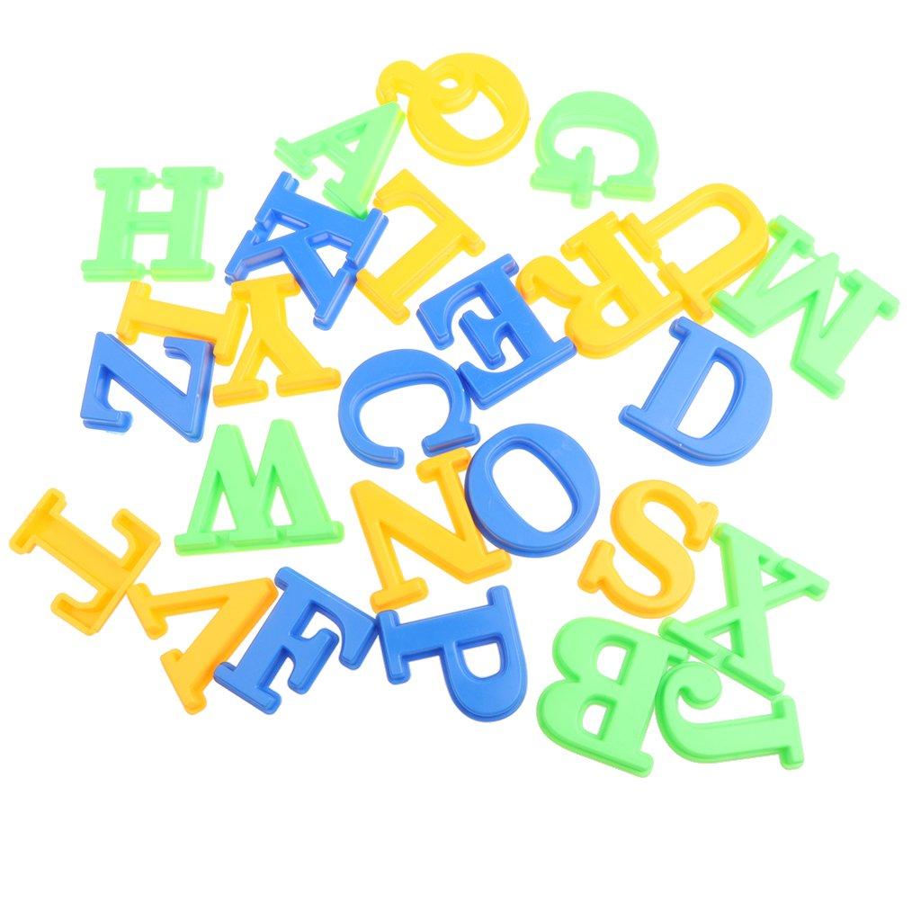 Sharplace 26 Piezas Molde de Arena Pl/ástico Colorido Juguete de Playa Verano Modelo de Alfabeto de Letras Juego Divertido para Ni/ños