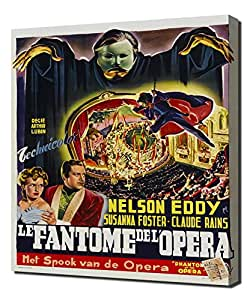 Poster - Phantom of the Opera (1943)_04 - Pintura en lienzo