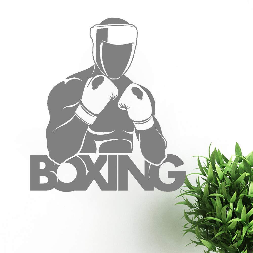 pegatinas de pared Boxeador Guantes de boxeo Letrero deportivo Decoración para el hogar Dormitorio Regalo para niños Planes: Amazon.es: Bricolaje y ...