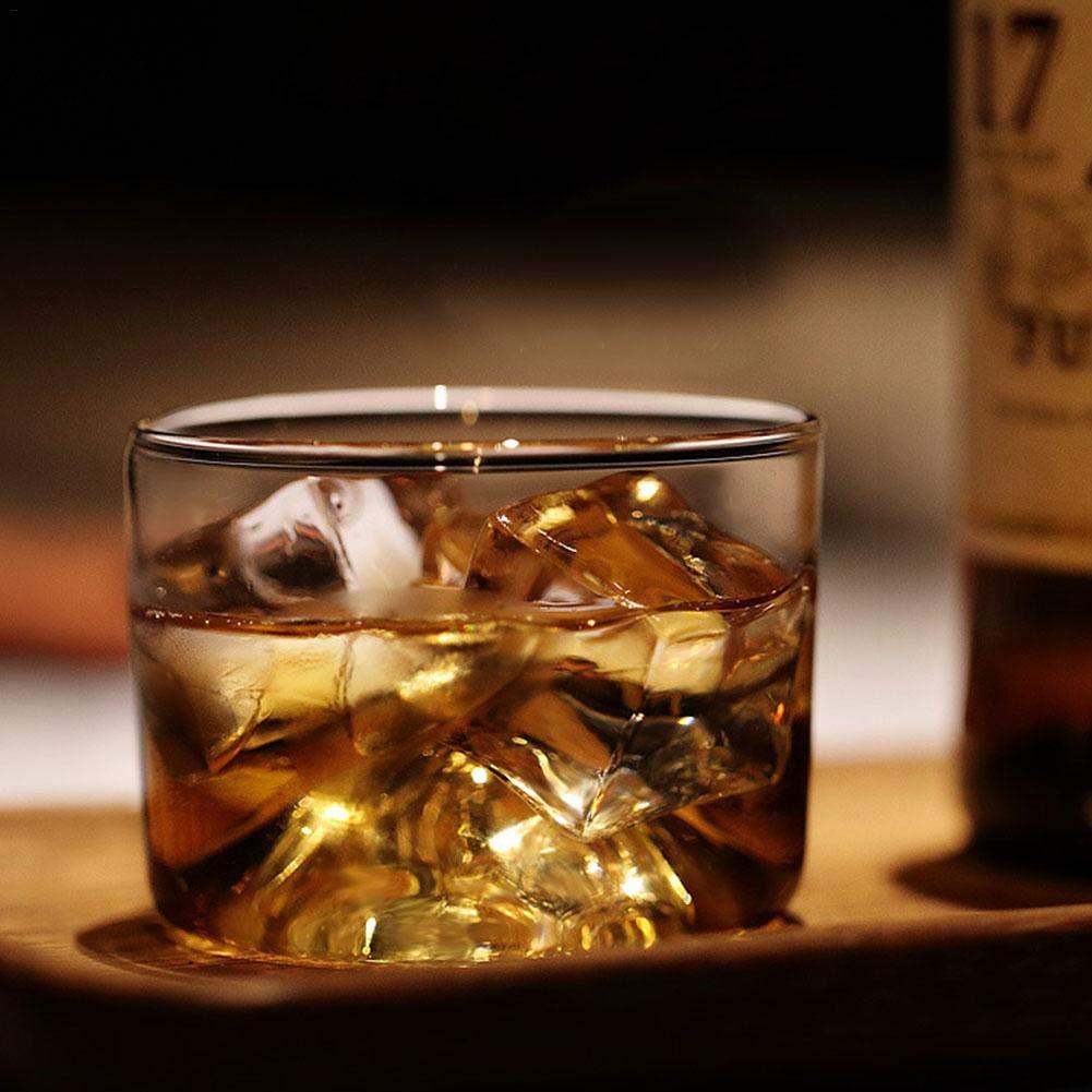 Petit Verre,Verre à Whisky,Verre de Vin de Fond en Bois de Style de Montagne de Style Japonais,Tasse à thé Blister Sheep-H