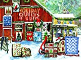 quilt puzzle - Holiday Quilts 1000 Piece Jigsaw Puzzle by SunsOut