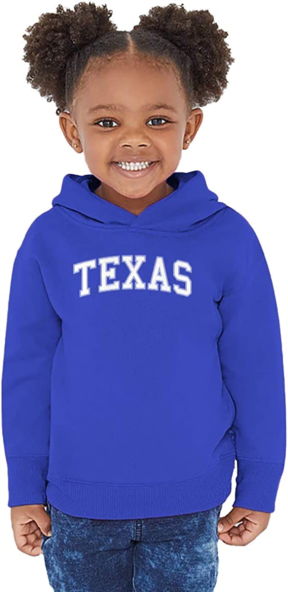State Proud Strong Pride Toddler//Youth Fleece Hoodie Haase Unlimited Texas