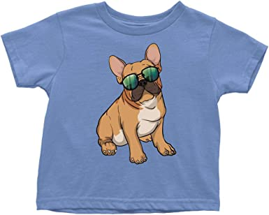 Short-Sleeve T Shirts English Bulldog Baby Girls Toddlers
