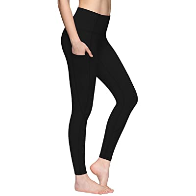 CUGOAO Yoga Pants with Pockets - High Waist Yoga Pants for Women Workout Yoga Leggings with Pokcets Tummy Control: Clothing