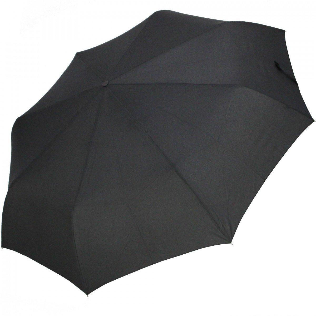 pierre cardin Regenschirm Schirm noir Easymatic Alupla Auf-Zu Automatik neu