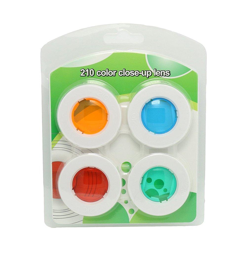 Forusky filtre couleur Close-up Lens Set de filtres pour Instax Wide 210, Large 300Camera