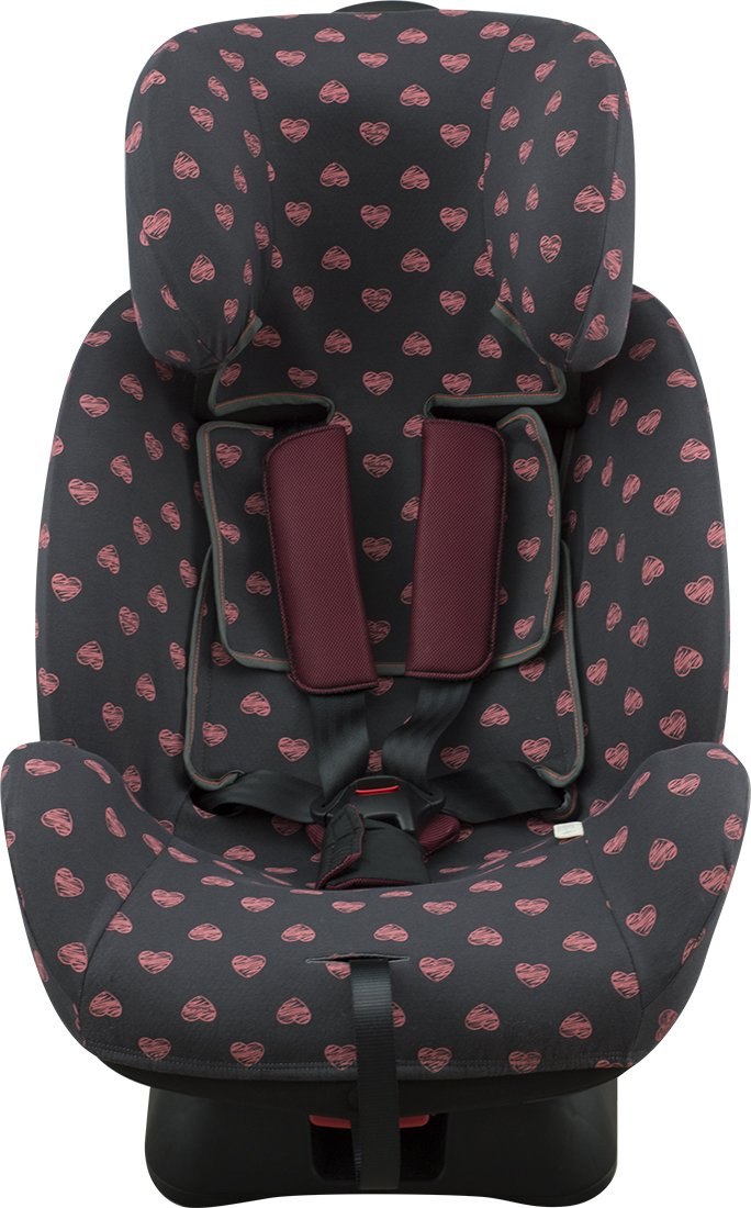 Babychic 100 Percent Cotton Strap//Harness Covers Charcoal Dandelion