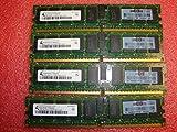 Qimonda 16GB 4x4GB server memory PC2-5300 2Rx4 HYS72T512022EP-3S-B HP 405477-061