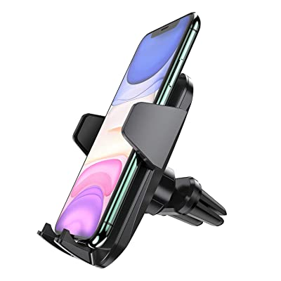 Newppon Car Phone Mount Holder : Air Vent Holders for iPhone 11 Pro Xs Max Xr X 8 7 6 Plus Samsung Galaxy Note 9 Pixel LG, Universal Hands Free 360 Rotating Auto Cell Phones Hodlers with Double Clip