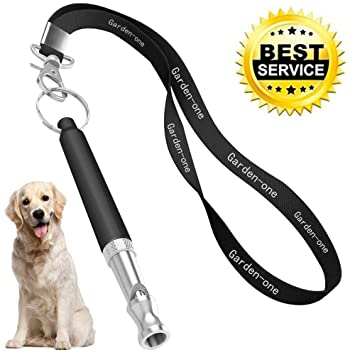 Garden-one Dog Whistle to Stop Barking, Professional Dog Whistle Adjustable  Frequency Ultrasonic Sound Training Tool