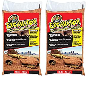 Zoo Med Excavator Clay Burrowing Substrate, 10 Pounds 7
