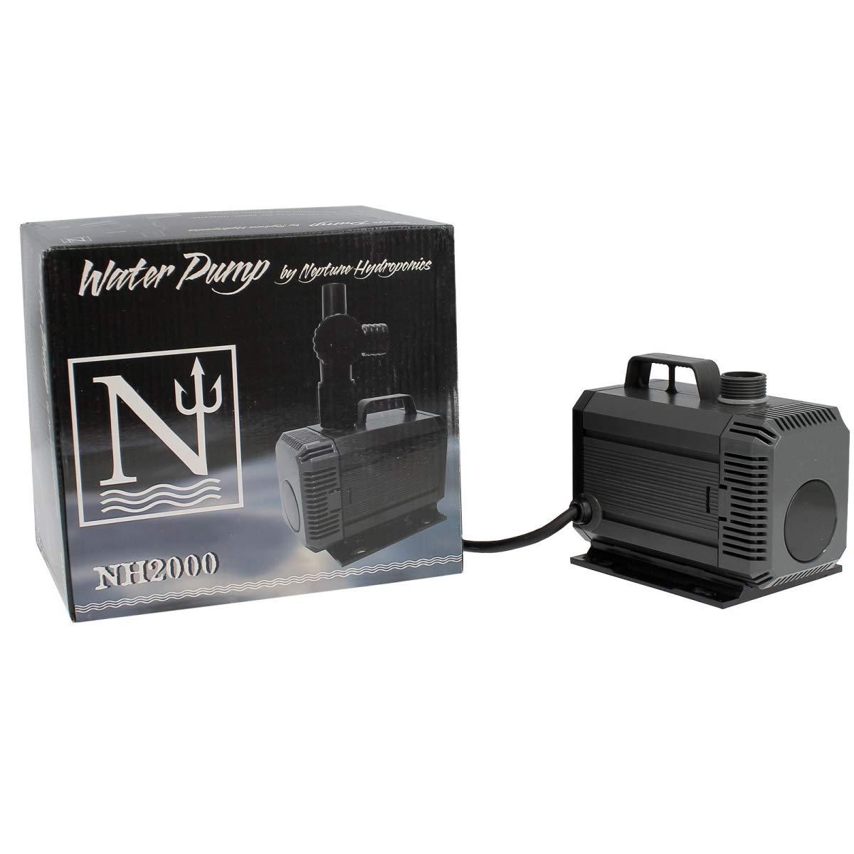 Bomba de agua sumergible Neptune Hydroponics 2000L//h NH-2000