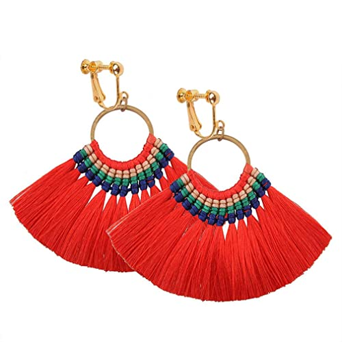 Drop Earrings Nice Fashion Jewelry Statement Tassel Flower Vintage Long Women Bohemian Earrings Ethinic Gold Big Dangle Drop Earrings For Women 100% Original Earrings