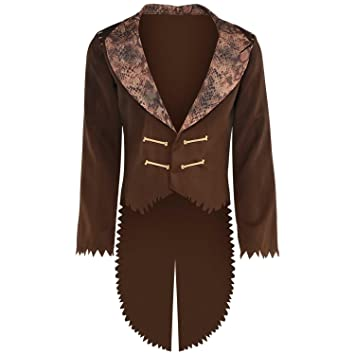 bded85e03da Adult Mens Voodoo Witch Doctor Jacket Halloween Fancy Dress Costume ...