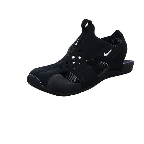 Pagar Con Paypal En Venta 100% Original Nike Sandali Sunray Protect 2 (PS) Nero/Bianco Formato: 32 atxAVxOPd