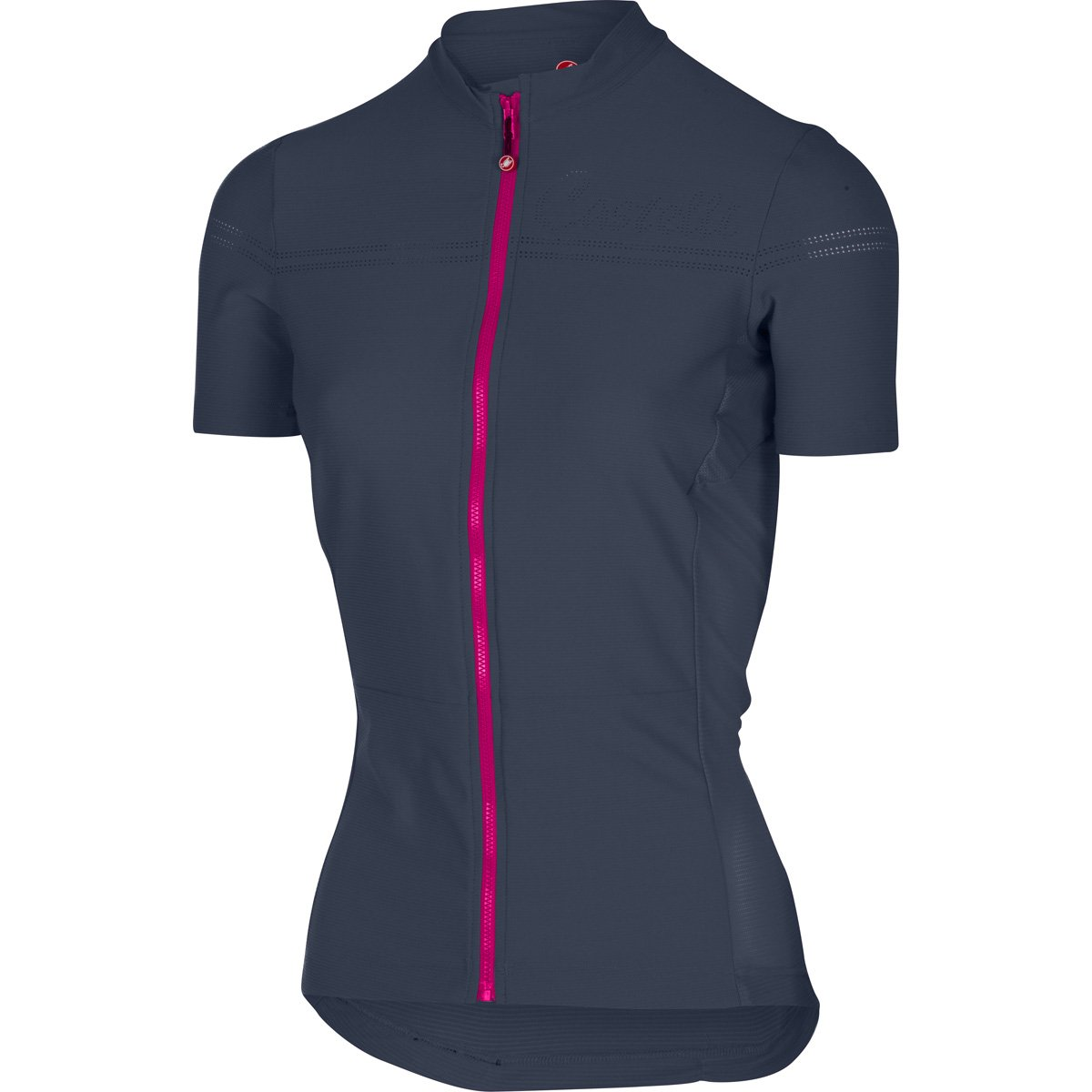 Castelli レプリカユニフォーム レディース プロメッサ 2 B0722D6BT1 Small|Midnight Navy/Raspberry Midnight Navy/Raspberry Small