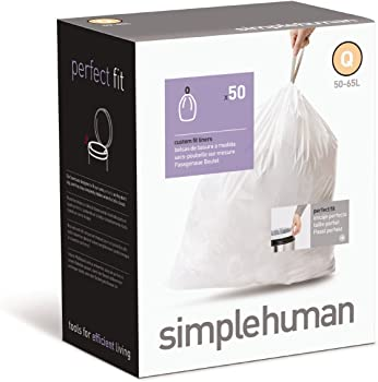 Simplehuman Custom Fit 13-17 Gal Trash Can bag