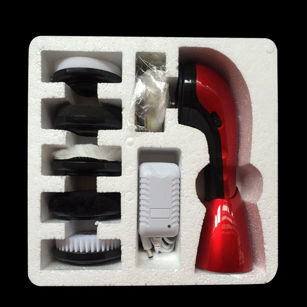 Yiwa Portable Electric Shoe Brush Multi-Function Handheld Mini Electric Shoe Polisher