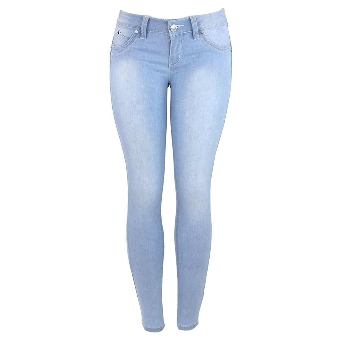 YMI Women's Better Butt Jeans,Denim Blue,7
