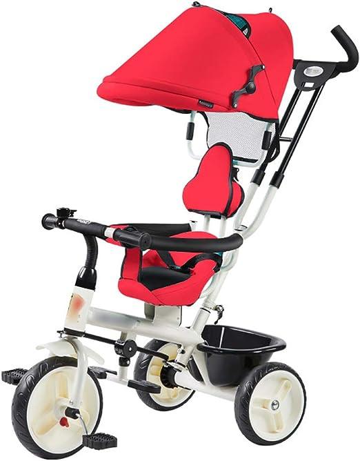 Jian E E-Carro Triciclo Ligero para niños de 1 a 3 años Cochecito ...