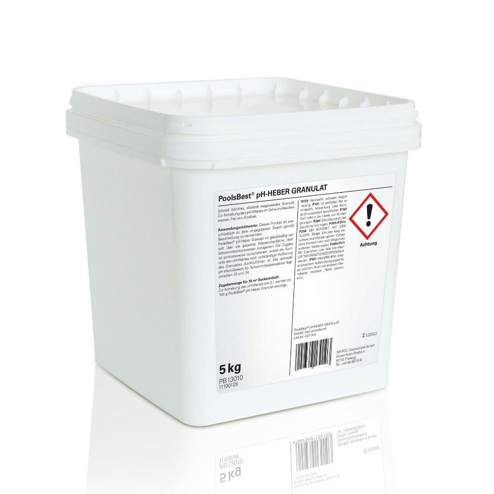 5 Kg - PoolsBest® pH-Heber Granulat: Amazon.de: Garten