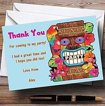 Amazon com : Aqua Tropical Luau Hawaiian Personalized Party
