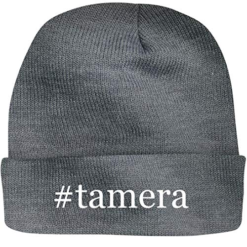 SHIRT ME UP #Tamera - A Nice Hashtag Beanie Cap, Grey, OSFA