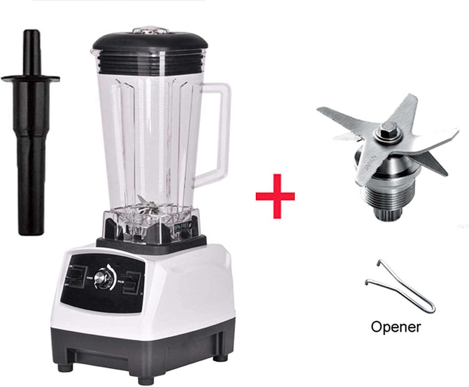 2200W BPA FREE 3HP 2L G5200 high power commercial home professional smoothies power blender food mixer juicer fruit processor,WHITE BLADES TOOL