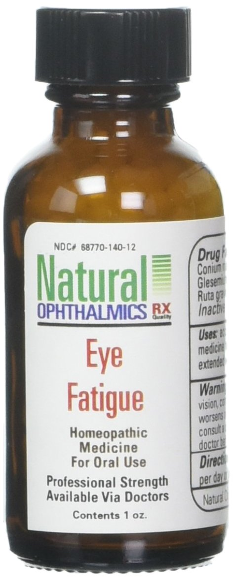 Natural Ophthalmics Eye Fatigue Pellets, 1 Ounce