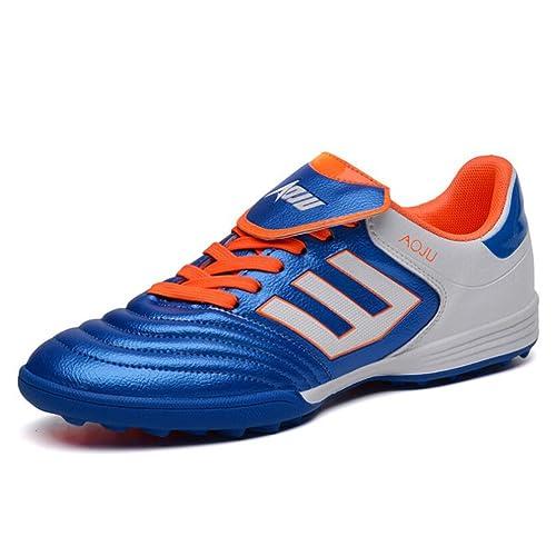 HUAN Botas de Fútbol Para Hombres Unisex Botas Para Hombres Zapatos de  Entrenamiento Para Adolescentes Zapatos 8289fb659644e