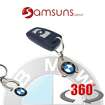BMW - Llavero original de BMW con moneda: Amazon.es: Coche y ...
