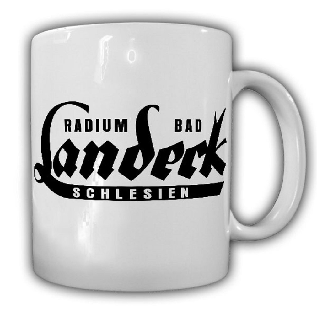 Radium Bad Landeck Silesia mineral sparkling water logo drink spa souvenirs - Coffee Cup Mug