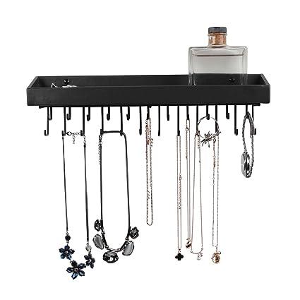 Amazoncom Jack Cube Hanging Jewelry Organizer Necklace Hanger