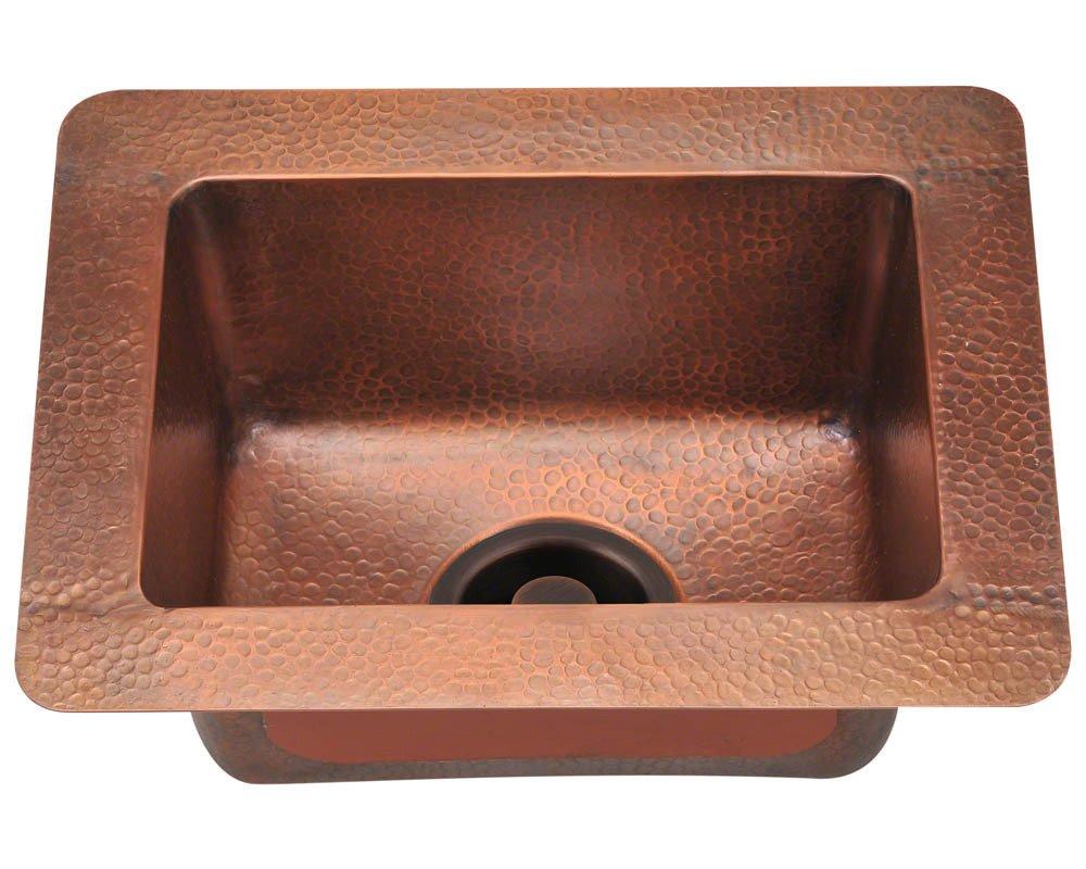Polaris Spülen P509 Small Single Schüssel Kupfer Spüle: Amazon.de ...
