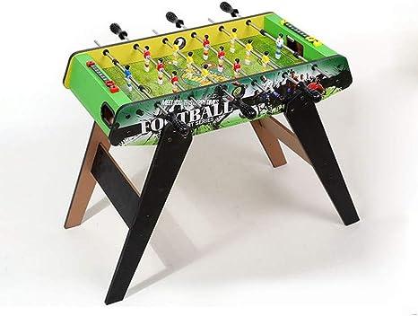 AK De mesa partido de fútbol, deporte Calidad de escritorio de madera Tarjeta de futbolín - Clásico Ligero y portátil novedad retro Inicio Arcade Familia,C: Amazon.es: Bricolaje y herramientas