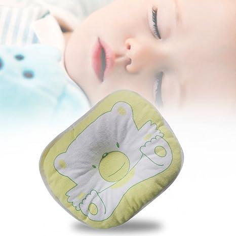Almohada para recién nacido bebé niño Niña anti-roll ...