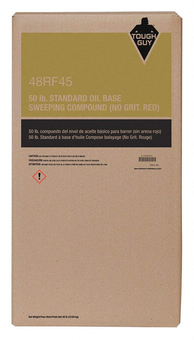 No-Grit Oil-Based Sweeping Compound by Tough Guy