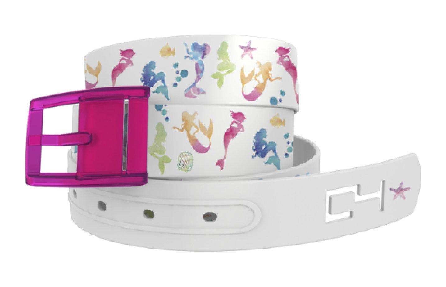 C4 Mermaids with Hot Pink Buckle - Fashion Waist Belt for Women & Men by C4 Belts (Image #1)
