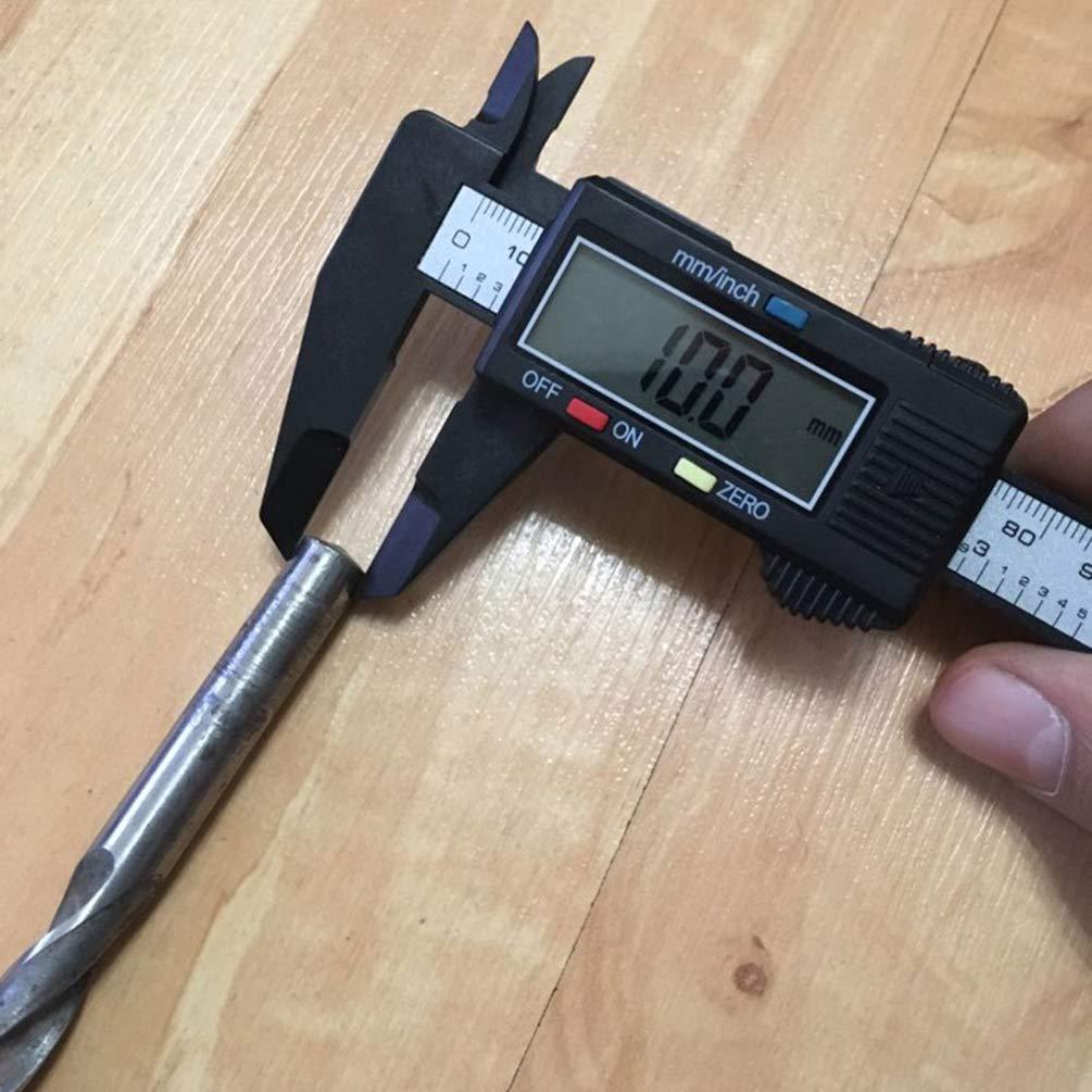 Outil /à Mesure en Acier au Carbone Pied /à Coulisse Num/érique /Électronique Mesure /à Produits Magn/étiques avec /Écran Lcd R/ésolution 0.01Mm pour le Papier