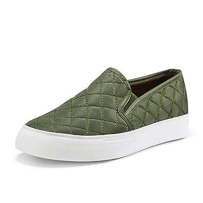 a72ac1bd620 JENN ARDOR Women s Fashion Sneakers Classic Slip on Flats Comfortable  Walking Sports Casual Shoes