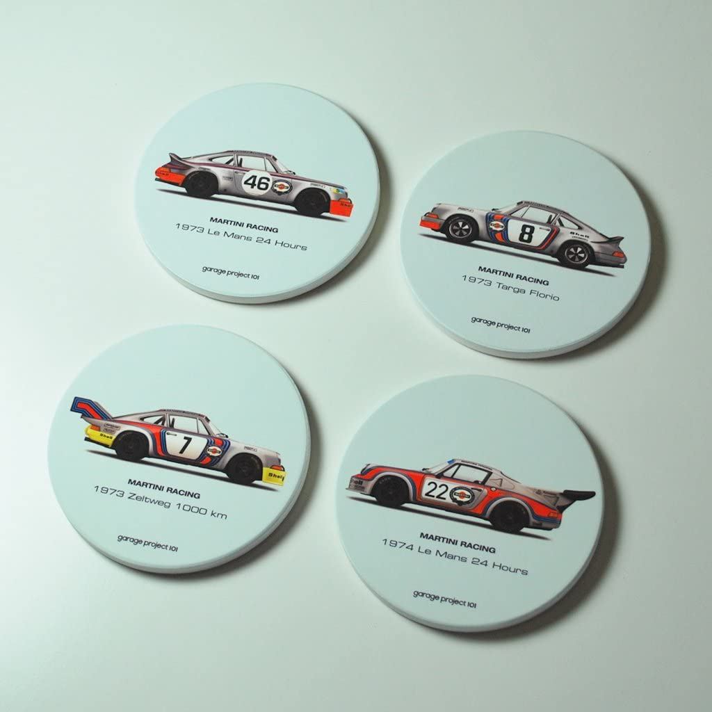 Zeltweg 1000 km 1973 Martini Racing Porsche illustration Coffee Mug