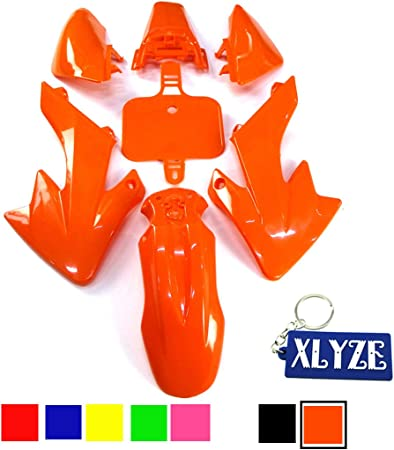 Xlyze Kit de car/énages en plastique rose