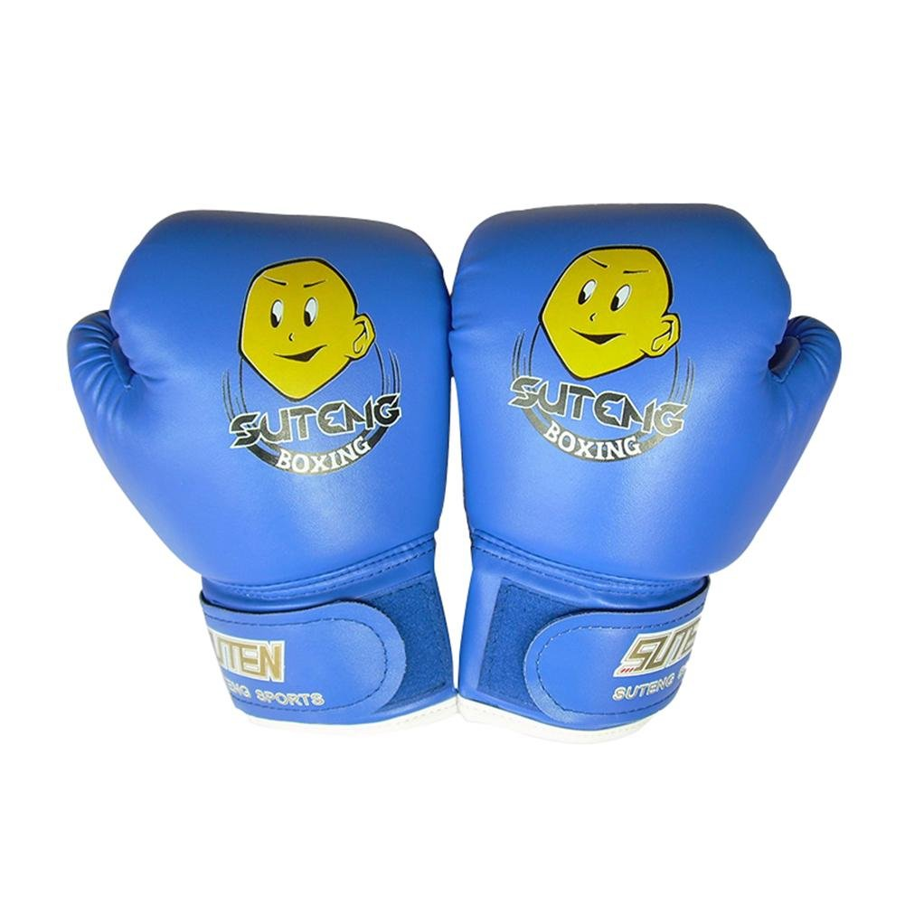 Nicololfle Kids Boxing Gloves 4oz Children Cartoon Sparring Boxing Gloves Training Mitts Junior Punch PU Leather Age 3-12 Years