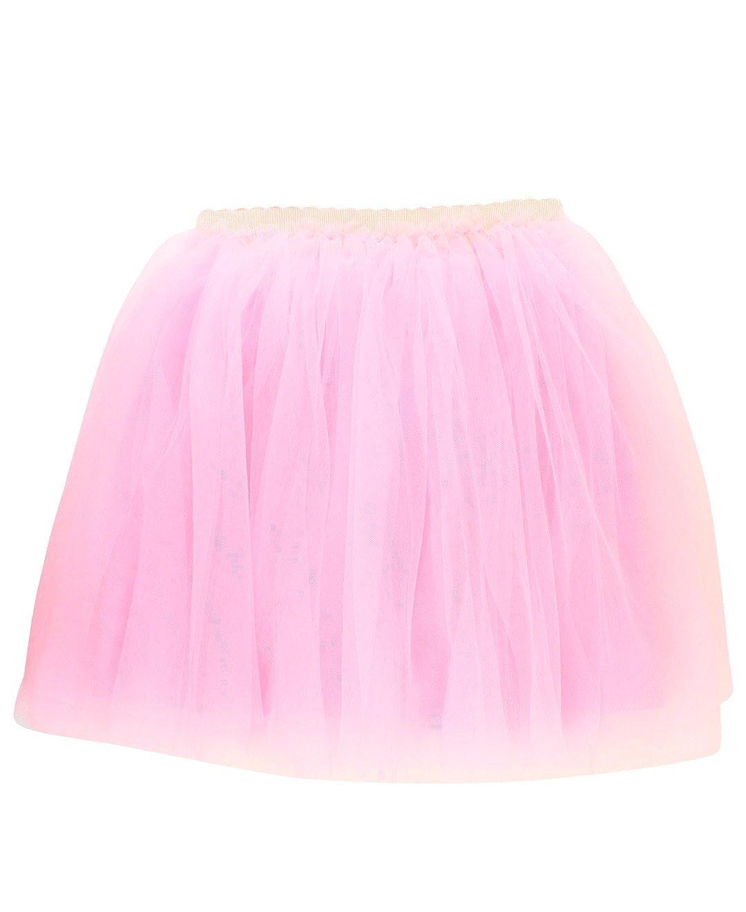 RuffleButts Baby//Toddler Girls Tulle Mesh Tutu Skirt SKWYYXX-TULL-SC-BABY