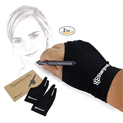 amazon com stargoods digital artist drawing glove for graphics