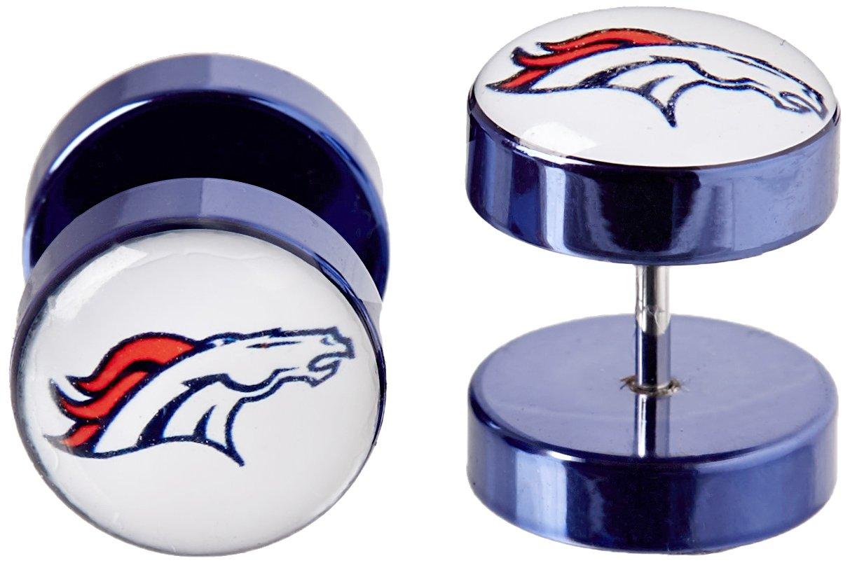 Siskiyou NFL Denver Broncos Faux Ear Plug