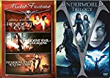 Underworld Trilogy + Resident Evil Trilogy monster movie Set Zombies - Vampires & Lycans