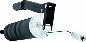 Lumax LX-1112 Black Heavy Duty Standard Lever Grease Gun. Basic Grease Gun with Professional Features. Provides Heavy-Duty, High Pressure Lubrication.